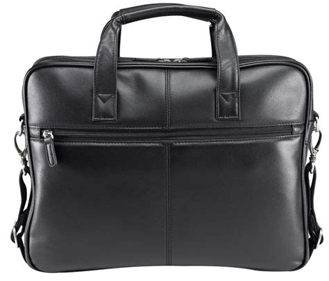 bugatti nevada leather  laptop business bag bugatti