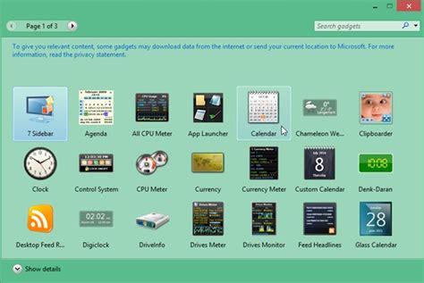 gadgets bureau windows 8 comment pouvons nous restaurer gadgets windows dans 8 1