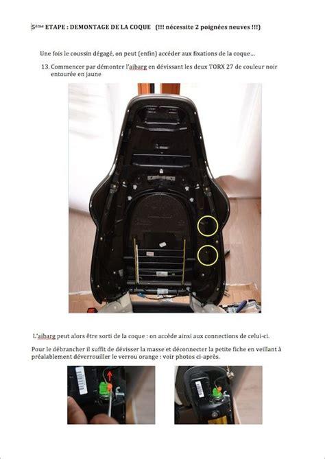 siege porsche boxster démontage coques housses cuir sièges sport sur 987