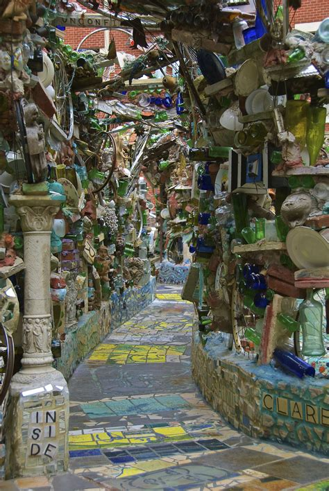 the magic gardens summer in the city philly s magic gardens gotham girl chronicles