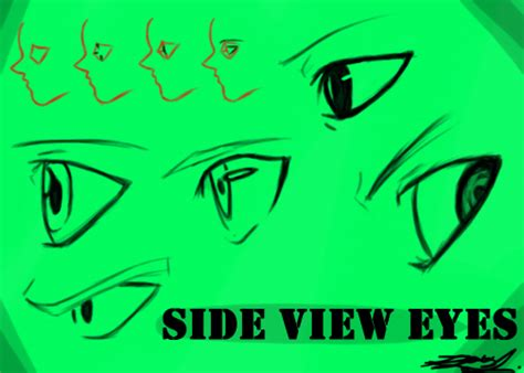 Anime Eyes From The Side Anime Eyes Side View Pictures To Pin On Pinterest Pinsdaddy