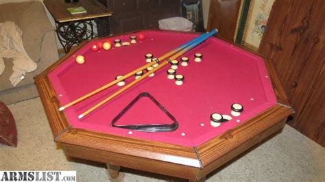 bumper pool table for sale armslist for sale trade bumper pool poker table for man