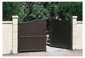 Portail En Aluminium : portail alu battant et coulissant obelo roy ~ Melissatoandfro.com Idées de Décoration