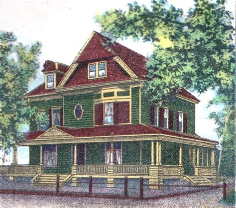 victorian exterior house paint schemes queen anne