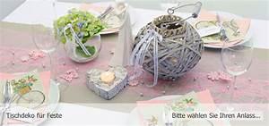 Tischdeko Shop De : tischdeko ihr online shop f r die perfekte tischdekoration ~ Watch28wear.com Haus und Dekorationen