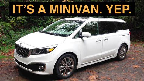 The Best Minivan Review Ever  2016 Kia Sedona Youtube