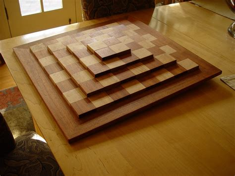 chess board finewoodworking