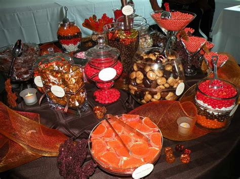 A Beautiful Candy Buffet For Fall The Nutty Scoop From