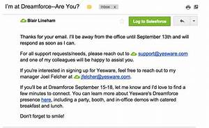 14 out of office message examples to copy for yourself With out of office email template