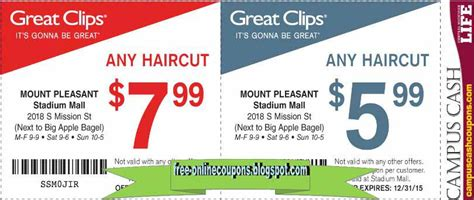 great clip haircut coupons printable coupons 2018 great coupons 5462