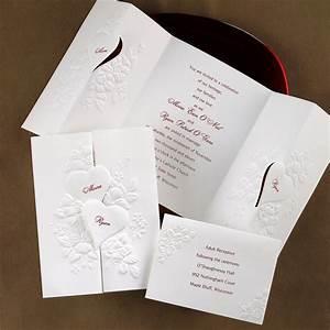 Interlocking Hearts Invitation Ann's Bridal Bargains