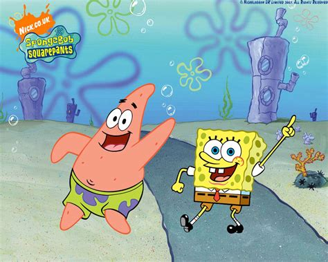 Spongebob : Spongebob And Patrick Dancing Spongebob Wallpaper