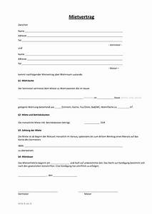 Mietvertrag Kostenlos Pdf : mietvertrag muster und vorlagen zum download vorlagen 365 ~ Frokenaadalensverden.com Haus und Dekorationen
