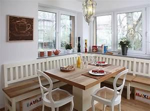 Esszimmer Eckbank : esszimmer mit eckbank im modernen landhaus stil ~ Pilothousefishingboats.com Haus und Dekorationen