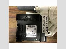 Motor of window winder driver side for audi a3 8p ref