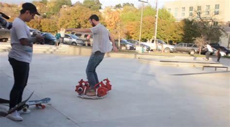 Skateboard Volante Ancora Un Altro Skateboard Volante