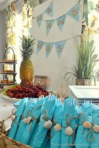 bridal brunch at the beach beach themed wedding shower With themes for wedding showers