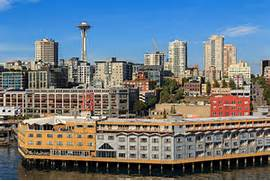Dinner Seattle Waterfront by Seattle Waterfront From West Seattle Bing Images
