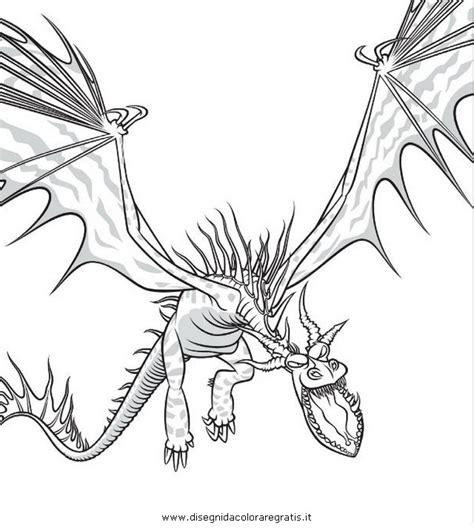 disegno dragontrainer personaggio cartone animato da colorare