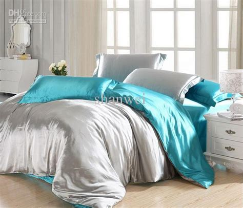 Blue and Grey Bedding Sets