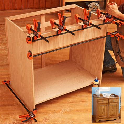 build cabinets  quick  easy  woodworking