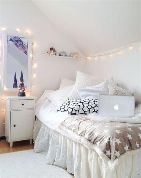 White Bedroom Love Fairy Lights Cute For A Little Girls