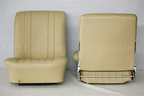 Porsche 356a Coupe Tan Leather And Green Carpet