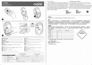 Rapoo Technology 7100p Wireless Optical Mouse User Manual