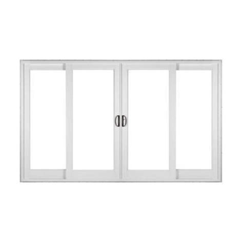 Simonton Patio Door Sizes by Simonton White 4 Panel Rail From Home Depot Epic