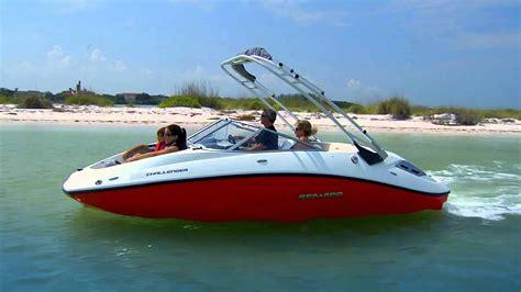 Seadoo Jet Boat Youtube by Sea Doo Boats Shallow Draft Youtube