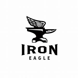 For Sale: Iron Eagle Anvil Logo Design – Logo Cowboy