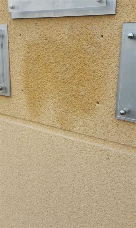 comment nettoyer une tache sur une facade