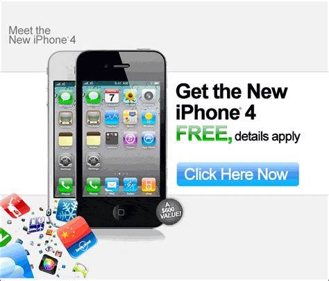 free iphone free iphone 4g how to get a free iphone today apple