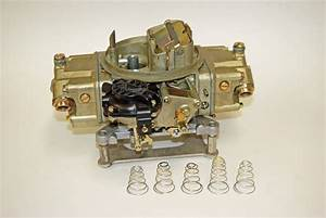 Holley 650 Double Pumper Diagram