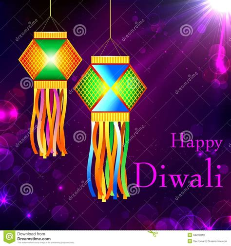 Lamp Diwali by Diwali Kandil Stock Photo Image 34220010