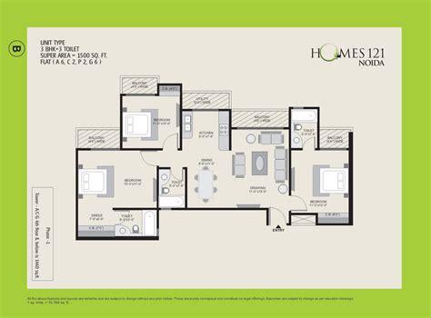 home plan designs ajnara homes 121 noida floor plan