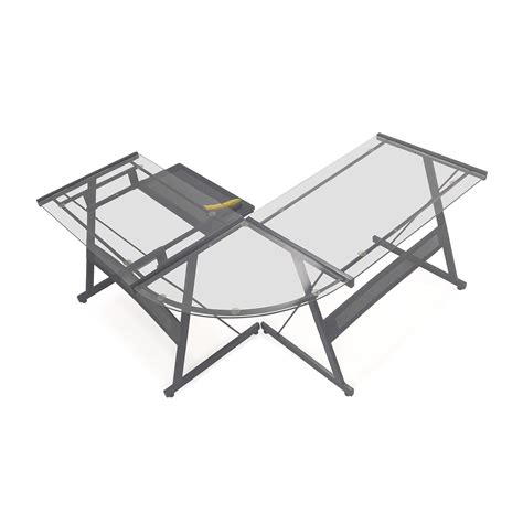beautiful office max l shaped desk officemax glass desk home furniture decoration 27324