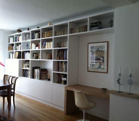 armoire bureau intégré bureau bibliothèque intégré home home