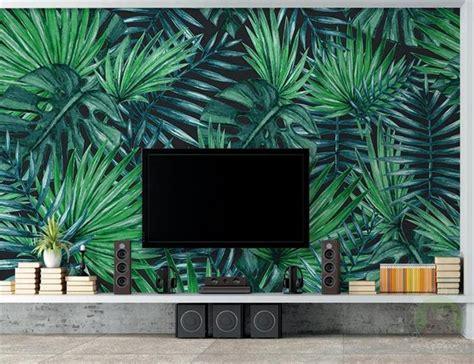 livingroom wallpaper custom mural photo simple tropical