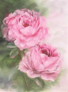 Original Oil Painting of Pink Roses