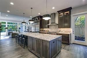 dark kitchen cabinet color schemes 2090