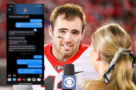 jake fromm apologizes  text messages leak