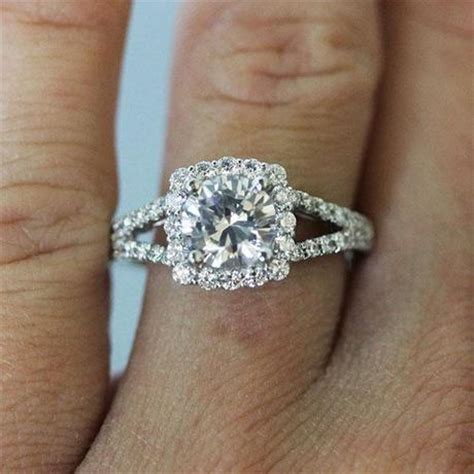 Hot Engagement Ring Trend The Square Halo Engagement Ring. Baguette Wedding Rings. Golden Rings. June Engagement Rings. Exclusive Wedding Rings. Water Lily Engagement Rings. Walmart Rings. Brushed Finish Wedding Rings. Simple Wedding Rings