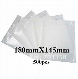 free shipping 180x145mm transparent back self adhesive With adhesive document pouches