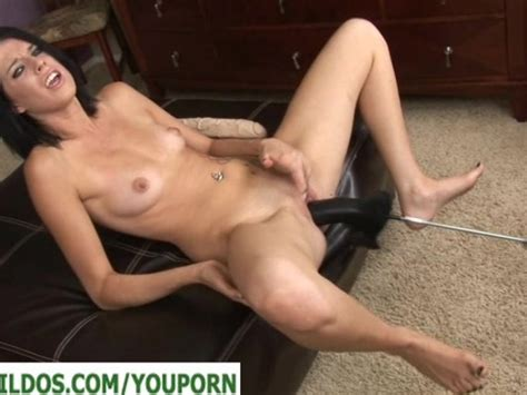 Brunette With A Brutal Dildo Fucking Machine Free Porn Videos Youporn