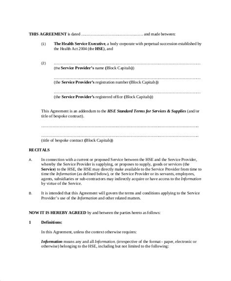 client confidentiality agreement   word excel