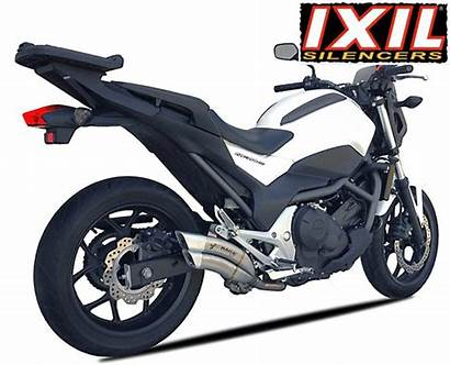 Honda Nc750 Nc700 Ixrace Exhaust Ixil Marked