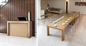 Table Console Extensible Bois : table console extensible venere toulon mobilier de france ~ Teatrodelosmanantiales.com Idées de Décoration