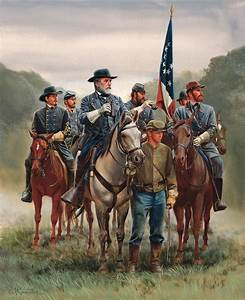 Mort Künstler Gettysburg Tribute 1860 Henry Rifle ...  Civil