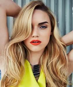 Hellbraune Haare Mit Blonden Strähnen : welche augenbrauenfarbe bei blonden haaren ~ Frokenaadalensverden.com Haus und Dekorationen